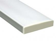 Широкий накладной алюминиевый профиль CAB284