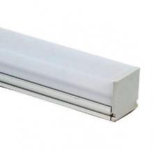 Профиль алюминиевый 2121 SQUARE ANOD с экраном/креп/загл