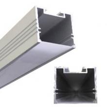 Подвесной алюминиевый профиль с пазом