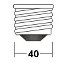 Цоколь E40